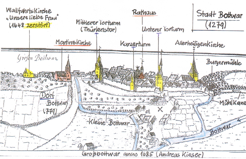 61. Stiftungsfest - Stadtbesichtigung Großbottwar